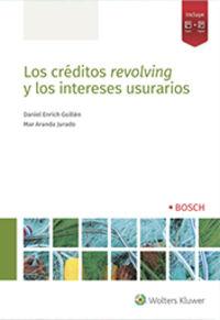 CREDITOS REVOLVING Y LOS INTERESES USURARIOS, LOS