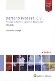 (5 Ed) Derecho Procesal Civil 2019 - Jose Garberi Llobregat