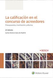 (2 ED) CALIFICACION EN EL CONCURSO DE ACREEDORES, LA
