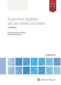 (3 ED) ASPECTOS LEGALES DE LAS REDES SOCIALES
