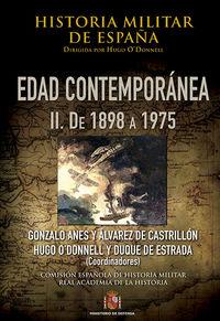 HISTORIA MILITAR DE ESPAÑA IV - EDAD CONTEMPORANEA - VOLUME
