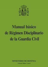 MANUAL BASICO DE REGIMEN DISCIPLINARIO DE LA GUARDIA CIVIL