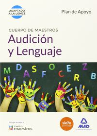 Plan De Apoyo - Audicion Y Lenguaje - Cuerpo De Maestros - Aa. Vv.