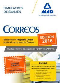 Simulacros Examen - Personal Laboral De Correos Y Telegrafos - Aa. Vv.