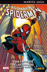 marvel saga 10 - asombroso spiderman 3 - vida y muerte de la arañas - Jose M. Straczynski / John Jr. Romita