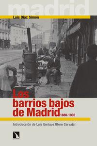 1880-1936, Los barrios bajos de madrid - Luis Diaz Simon
