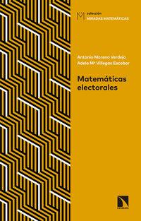 Matematicas Electorales - Antonio Moreno Verdejo
