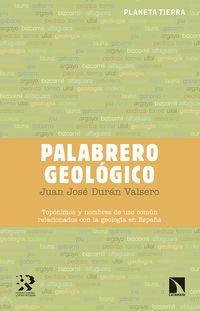 palabrero geologico - Juan Jose Duran Valsero