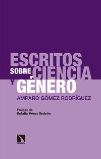 ESCRITOS SOBRE CIENCIA Y GENERO - AMPARO GOMEZ RODRIGUEZ