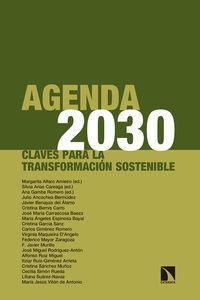 AGENDA 2030 - CLAVES PARA LA TRANSFORMACION SOSTENIBLE