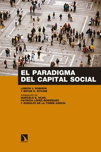 PARADIGMA DEL CAPITAL SOCIAL, EL
