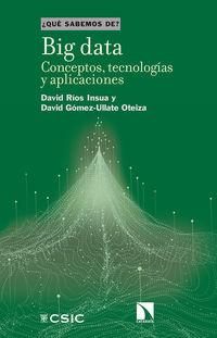 BIG DATA - CONCEPTOS, TECNOLOGIAS Y APLICACIONES