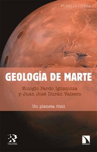 GEOLOGIA DE MARTE - UN PLANETA FOSIL
