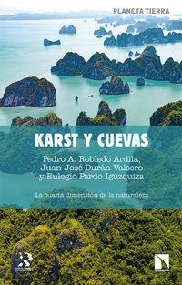 karst y cuevas - la cuarta dimension de la naturaleza - Pedro A. Robledo Arcilla