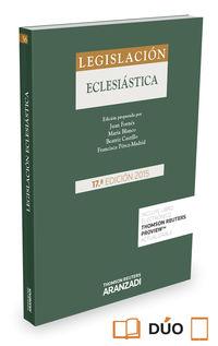 (17 ED) LEGISLACION ECLESIASTICA (DUO)