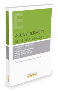 Agua Y Derecho - Miguel Angel Benito Lopez