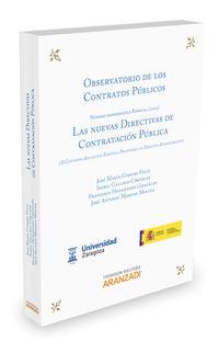 Las nuevas directivas de contratacion publica - Jose Maria Gimeno Feliu