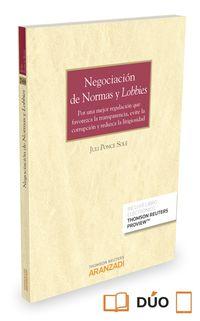 Negociacion De Normas Y Lobbies (+proview) - Julio Ponce Sole