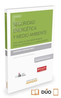 Seguridad Energetica Y Medio Ambiente (+proview) - Sagrario Moran