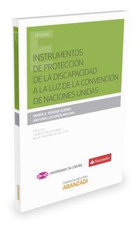 Instrumentos De Proteccion De La Discapacidad A La Luz De La Convencion De Naciones Unidas - Maria Esther  Rovira Sueiro  /  Antonio  Legeren Molina