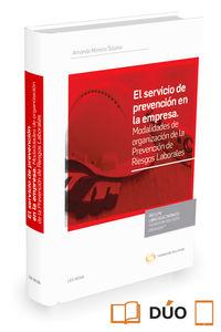 Servicio De Prevencion En La Empresa, El (duo) - Amanda Moreno Solana