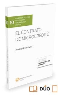 El contrato de microcredito - Javier Ibañez Jimenez