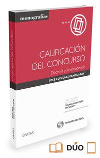 Calificacion Del Concurso - Jose Luis Diaz Echegaray