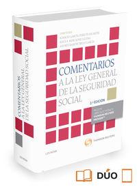 (2 ED) COMENTARIOS A LA LEY GENERAL DE LA SEGURIDAD SOCIAL (DUO)