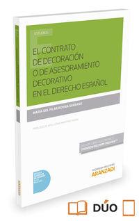 Contrato De Decoracion En El Derecho Español, El (duo) - Pilar Rovira Serrano