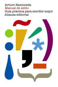 manual de estilo - guia practica para escribir mejor - Arturo Ramoneda