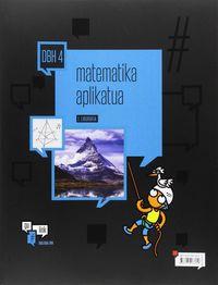 DBH 4 - MATEMATIKA (APLIKATUA) - #GULINK