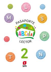 4 AÑOS - LECTOESCRITURA 2 ABCOLE (CUADRICULA)