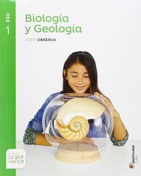 ESO 1 - BIOLOGIA Y GEOLOGIA - OBSERVA - SABER HACER (NAV, PV)