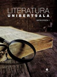 BATX 1 - LITERATURA UNIBERTSALA