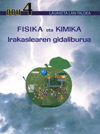 DBH 4 - FISIKA ETA KIMIKA GIDA