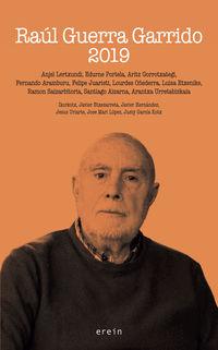 Raul Guerra Garrido 2019 - Anjel Lertxundi / [ET AL. ]