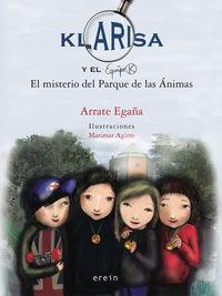 KLARISA 2 - KLARISA Y EL EQUIPO K - EL MISTERIO DEL PARQUE DE LAS ANIMAS