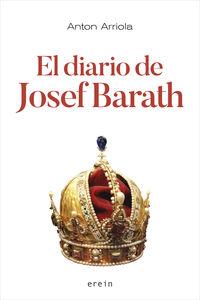 El diario de josef barath - Anton Arriola