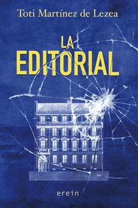 La editorial - Toti Martinez De Lezea