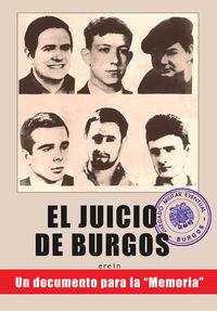 """juicio de burgos, el - un documento para la """"memoria"""" - Erein"""