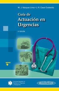 GUIA DE ACTUACION EN URGENCIAS -MATERIAL COMPLEMENTARIO PAR