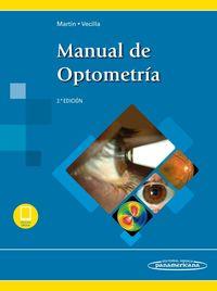 (2 ED) MANUAL DE OPTOMETRIA (+EBOOK)