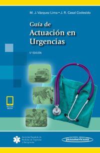(5 ED) GUIA DE ACTUACION EN URGENCIAS (+EBOOK)