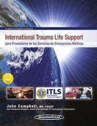 (3 ED) INTERNATIONAL TRAUMA LIFE SUPPORT PARA PROVEEDORES D
