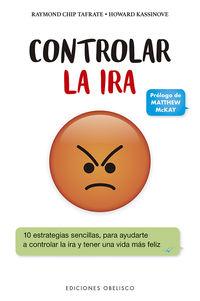 Controlar La Ira - Raymond Chip Tafrate / Howard Kassinove