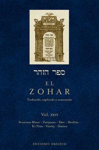 ZOHAR, EL XXVI