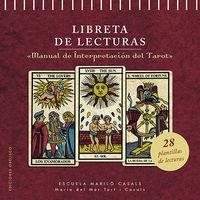 LIBRETA DE LECTURAS - MANUAL DE INTERPRETACION DEL TAROT