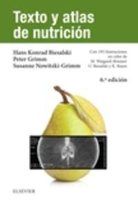 (6 ED) TEXTO Y ATLAS DE NUTRICION