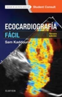 (3 ED) ECOCARDIOGRAFIA FACIL + STUDENTCONSULT