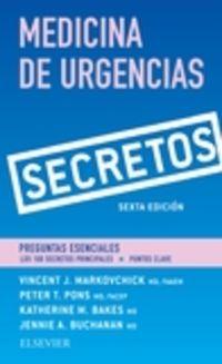 (6 ED) SECRETOS - MEDICINA DE URGENCIAS